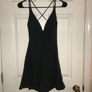 Lulu's open back spaghetti strap dress- worn once